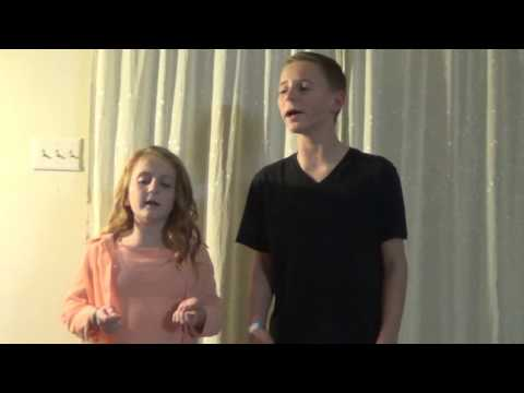 Justin Bieber, Love Yourself ( Cover by Allyssa and Jonathon Stout)