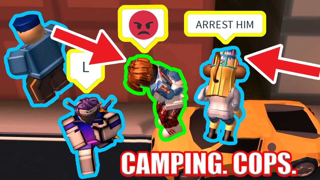 Roblox Prison Break Roblox Camping Youtube Why Are There So Many Camping Cops Roblox Jailbreak Youtube