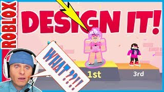 I WOULD HAVE WON but THIS HAPPENED | DESIGN IT//ROBLOX