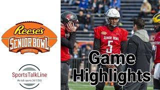 Gambar cover Reese's Senior Bowl Highlights 2020 | FULL GAME