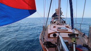 48] Sailing Life: Island Hopping Under Spinnaker & Fixing Our Steering | Sailing Skua