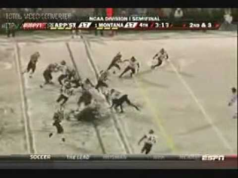 Final 4 minutes-University of Montana vs App State 2009