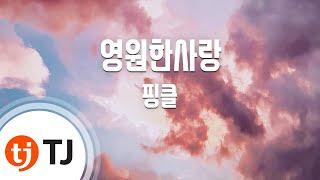Tj노래방  영원한사랑 - 핑클   - Fin.k.l  / Tj Karaoke