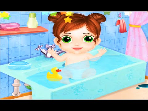 Thumbnail: Baby Doll House | Play The Role of The Babysitter To Take Care of The Baby | Baby Care Game For Kids