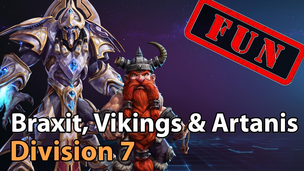 ► Braxit, Vikings & Artanis! - Division 7 - Heroes of the Storm Amateur Play