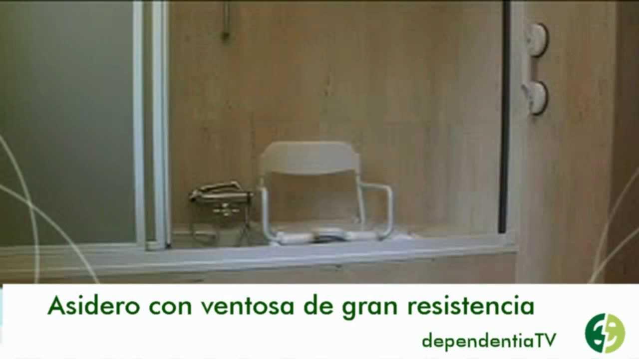 Baño Adaptado Para Discapacitados:Asiento giratorio para baño adaptado a personas mayores y