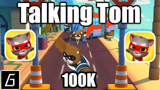 Talking Tom Hero Dash Run Game - Gameplay - New Highscore (100K) - (iOS - Android)