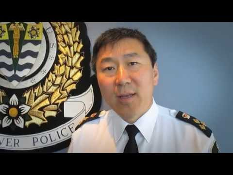 Happy 50th Gregor - From Chief Jim Chu and the VPD