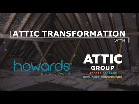 Attic Transformation with Howards Storage World