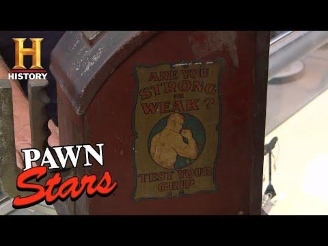 Pawn Stars: 1930s Gottlieb Grip Tester