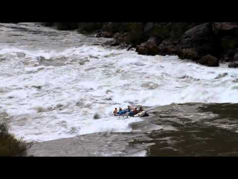 Rafting Lava Falls - 25,000 CFS - July 18, 2011