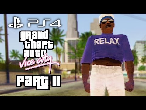 Grand Theft Auto Vice City PS4 Gameplay Walkthrough Part 11 - HAITIANS