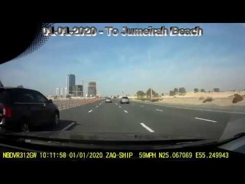 01-01-2020 – Drive To Jumeirah Beach and Back To RemRaam – Dubai