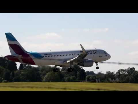 Busy Day At Birmingham Airport 12/8/2016