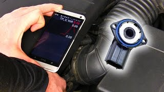 How to: Test a throttle position sensor with a cheap scan tool
