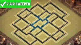 Clash Of Clans | AWESOME TOWN HALL 9 WAR BASE | TH9 War Strategy Speed Build! [2016]
