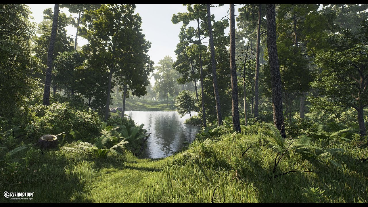 New trees for Unreal Engine from Evermotion - Unreal Engine Forums