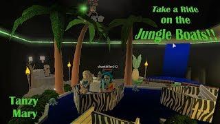 Roblox: Bloxburg Jungle Boats RP y Speed Build