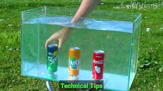 Experiment_ Car Vs Coca Cola and Balloons