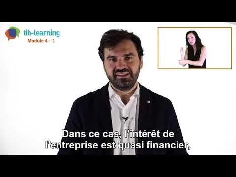 Module 4 - TIH Learning : quel est l'intérêt extra-financier d'une entreprise de recourir à un TIH ?