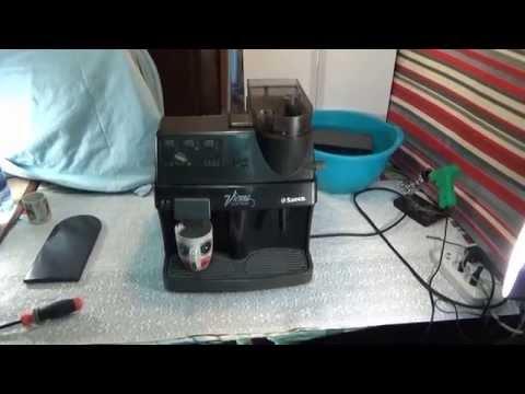 Ремонт кофемашины Saeco, не мелет зерна?!!