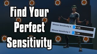How To Find The Perfect Sensitivity! - PSA Method (Fortnite Battle Royale)