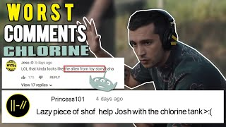 THE FUNNIEST COMMENTS ON CHLORINE Really Bad Actually Chlorine Twenty One Pilots - MusicVista