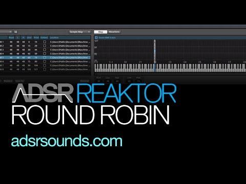 NI Reaktor tutorial - Round Robin Sampling - YouTube