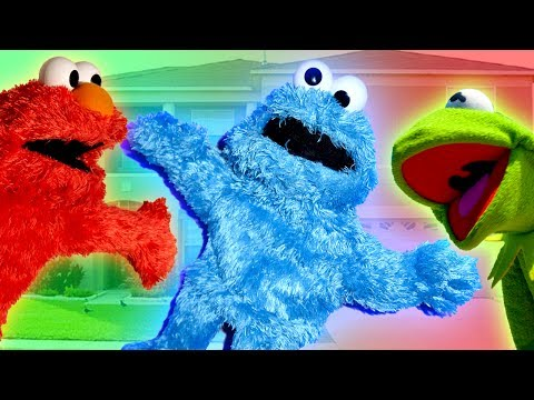 Elmo and Kermit the Frog Make a New Friend!