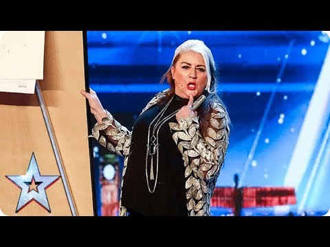 Magic Mandy BEWITCHES The Judges! | Auditions | BGT 2018