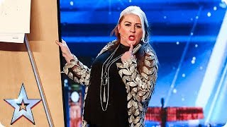 Watch as Mandy Muden wows the Judges with her comedy magic act. How can getting it wrong be so right?! Underneath this calamity act is some truly ...