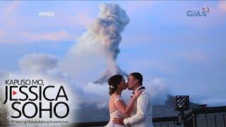 Kapuso Mo, Jessica Soho: Pasabog na kasalan sa gitna ng nag-aalburutong bulkan