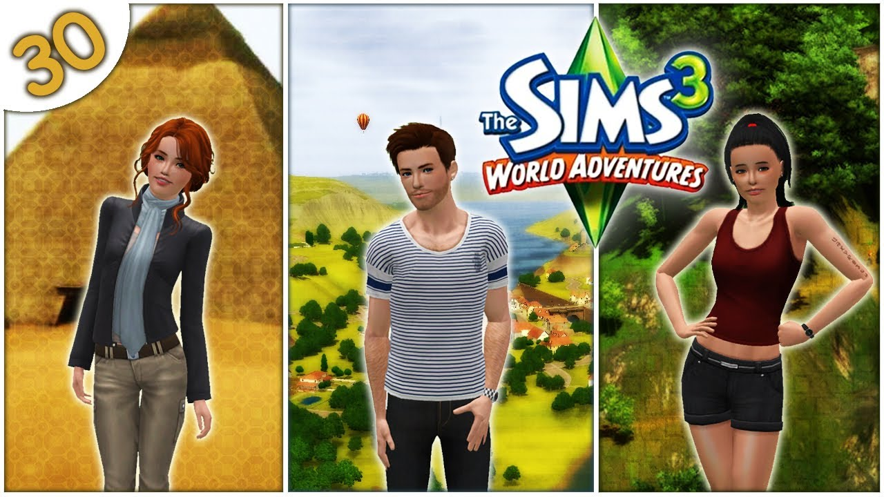 let 39 s play the sims 3 world adventures part 30 back to the burial mound youtube