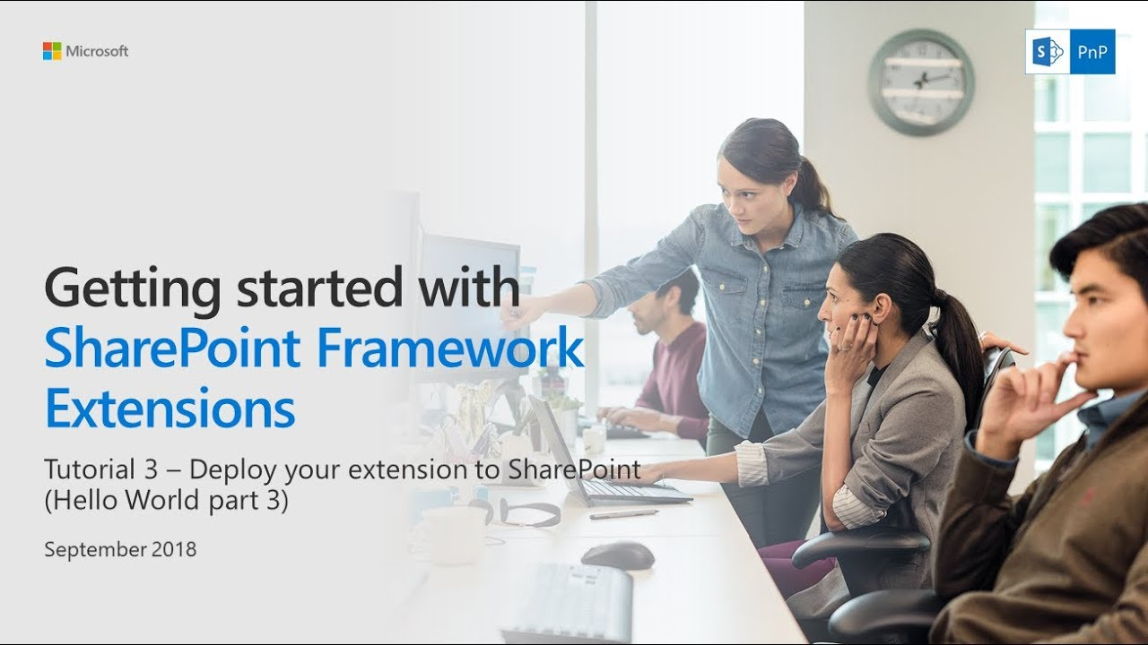 SharePoint Framework Extensions Tutorial 3 - Deploy your extension to site  collection