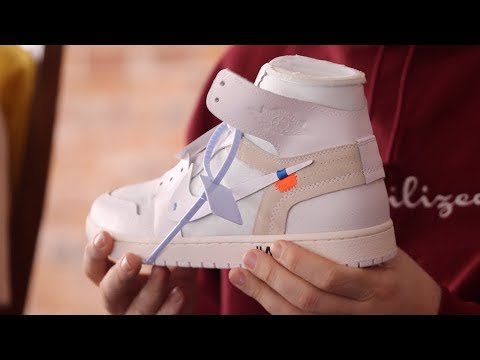 ee2d42ab72345 HOW TO BUY THE OFF WHITE AIR JORDAN 1! - YouTube