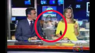 Ghost Caught On Tape On The News! thumbnail