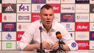 Sarunas Jasikevicius talks about kids