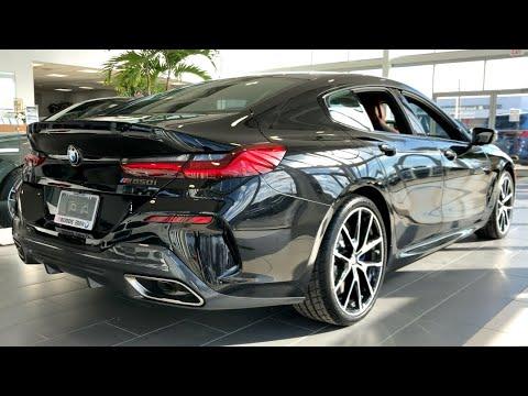 2020 Bmw M850i Gran Coupe 523hp Carbon Black Metallic In Depth Video Walk Around Youtube