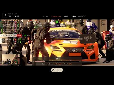 GT SPORT Online | Moved up 7 positions | Lexus RC F GT3