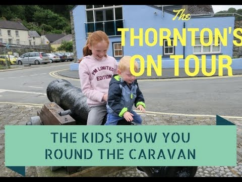 The Kids Do A Caravan Tour - Fishguard Holiday Park - Number 58