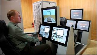Aircraft training simulators