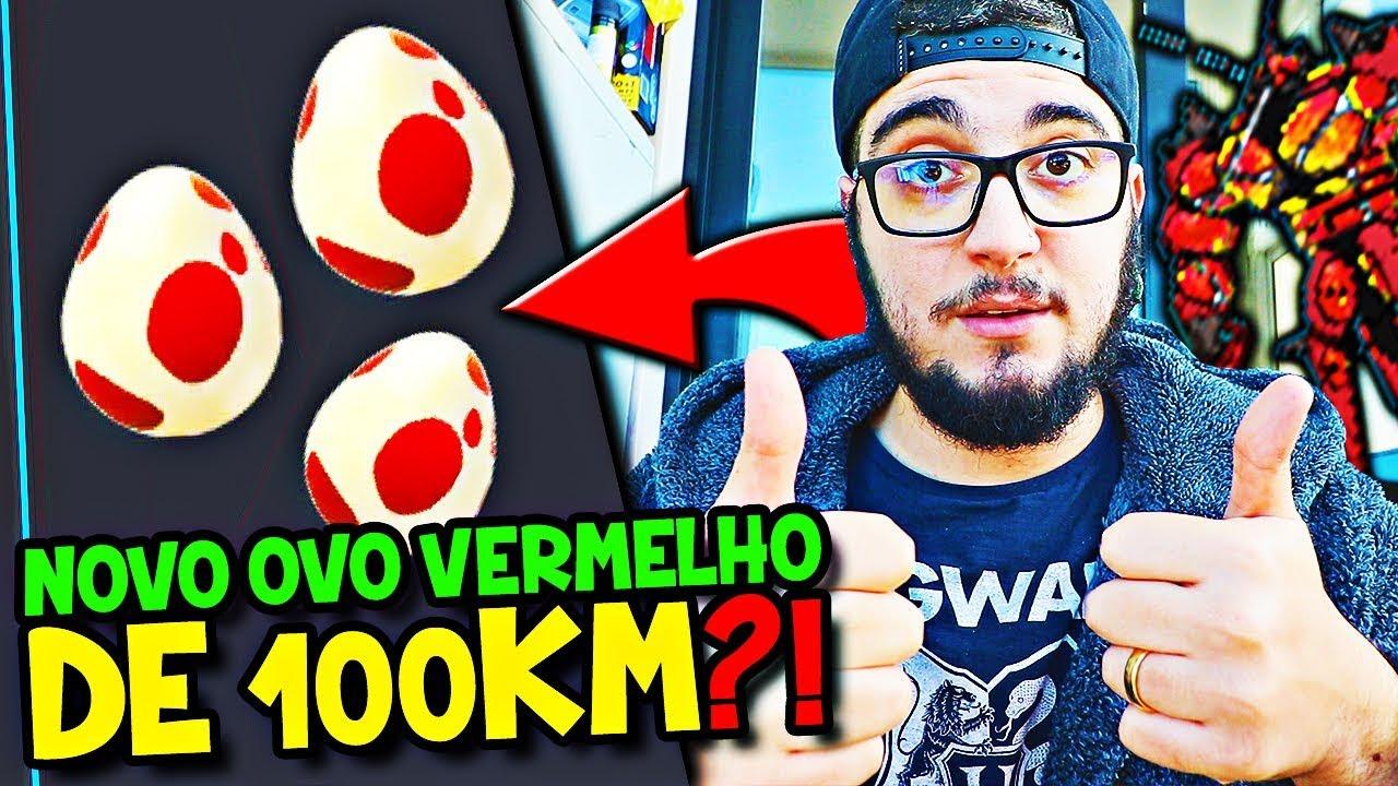 POKÉMON GO 2 #33 - NOVO OVO VERMELHO DE 100 KM ADICIONADO NO JOGO ?! -  YouTube