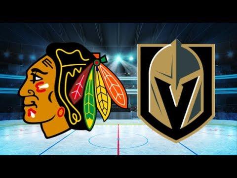 Chicago Blackhawks vs Vegas Golden Knights (4-5) – Jan. 6, 2018 | Game Highlights | NHL 2018 - YouTube
