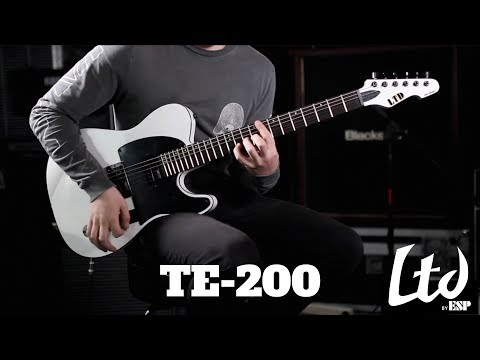 Ecoutez la guitare LTD-TE 200 (vidéo de la boite noire)