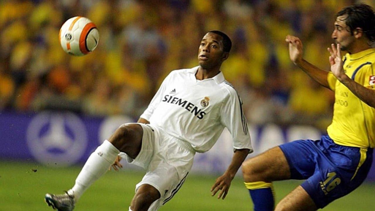El histórico show de ROBINHO contra el Cádiz ◉ Highlights ◉ Real Madrid - YouTube