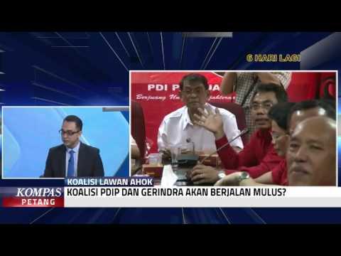 PDIP dan Gerindra