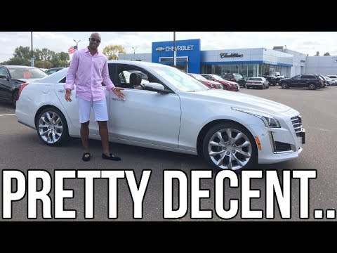2018 Cadillac CTS Review!! From A Tall Guy's Perspective.
