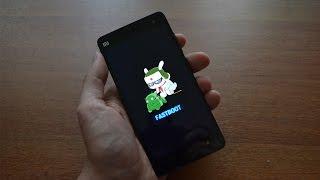 Установка прошивки MIUI в режиме FASTBOOT | Xiaomi Mi4