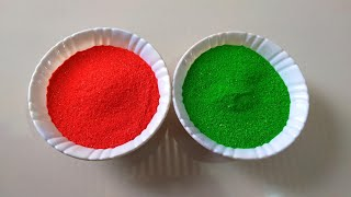 Making Easy Sand Art Only 2 Colours Rangoli | Satisfying Videos, Beautiful Rangoli Design with Trick