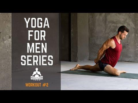 Yoga for Men Series - Workout #2   #yogaformen